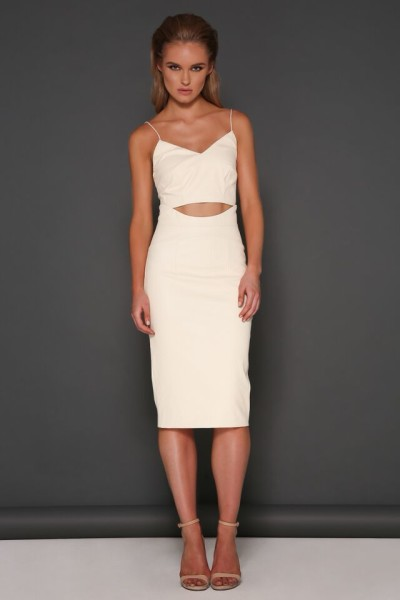 Indira Cream crop & Andie Skirt 1