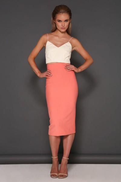 Maya Skirt Peach 1