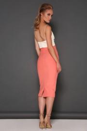 Maya Skirt Peach